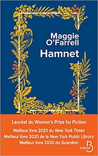 OCTOBRE  2021 // Hamnet, de Maggie O'Farrell